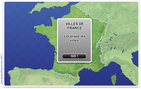 Localisation-Villes-Francaises