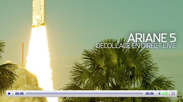 Ariane5-07fevrier2012-lancement