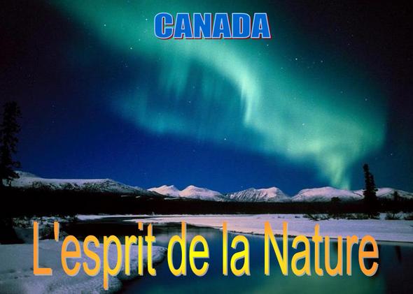 Canada-Esprit-De-la-nature