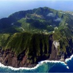 Volcan Aogashima, Japon