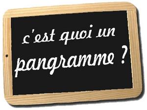 Pangramme