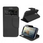 Housse Flip imitation cuir Samsung Galaxy S4 Sneak Peak