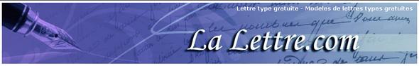 Modeles-lettres