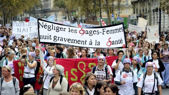 Sage-femmes-greve