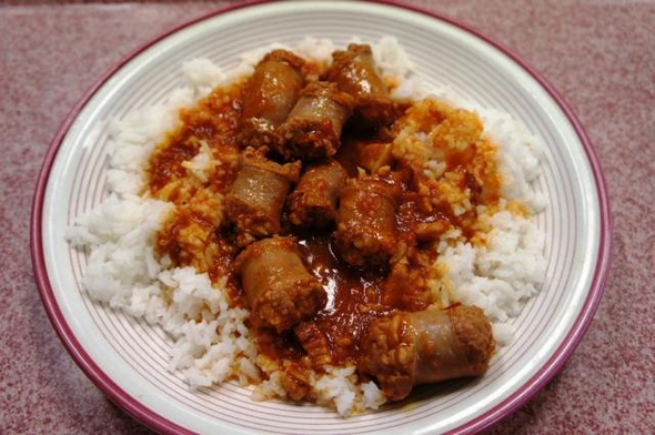rougail-saucisses