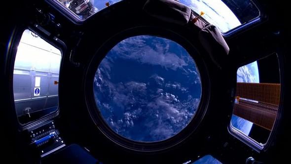 ciel vu de la terre