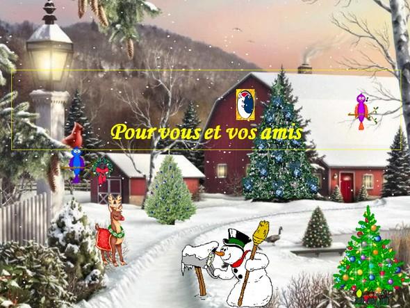 diaporama animé noel 2018 PPS pour Noël 2017 & Bonne Année 2018. | Le blog de Radiblog diaporama animé noel 2018